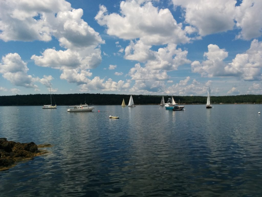 Sail Racing in Shelburne