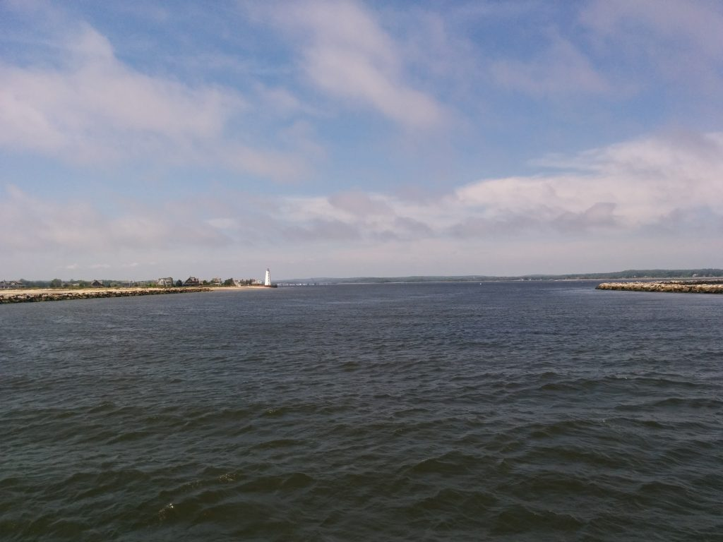 Winds On Long Island Sound Today