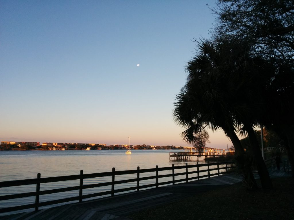 Moon at Ft Walton